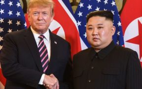 رئيس كوريا الشمالية و ترامب