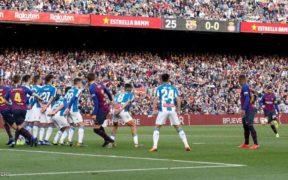 هدف ميسي أمام إسبانيول