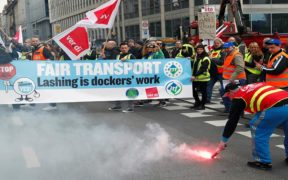 عمال النقل في أوروبا