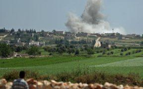 قصف عنيف على إدلب من قبل قوات النظام وحليفتها روسيا