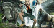 رامز جلال في برنامج رامز في الشلال