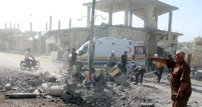قصف إدلب