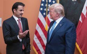 أمير قطر وترامب