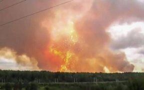 الانفجار في روسيا