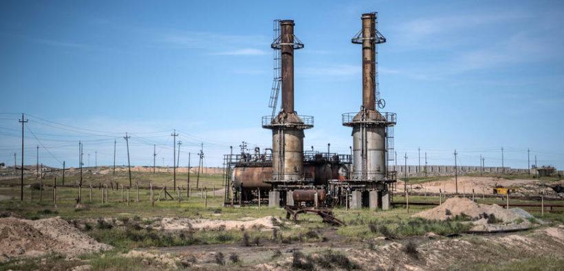 المنشآت والحقول النفطية