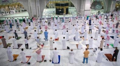 الصلاة وأداء العمرة